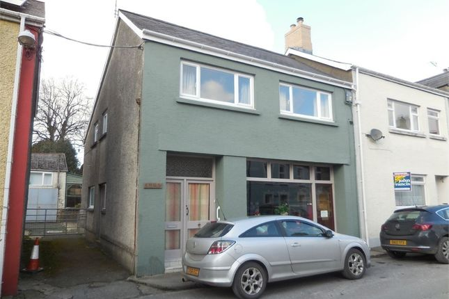 Thumbnail End terrace house for sale in Dewi Road, Tregaron, Ceredigion