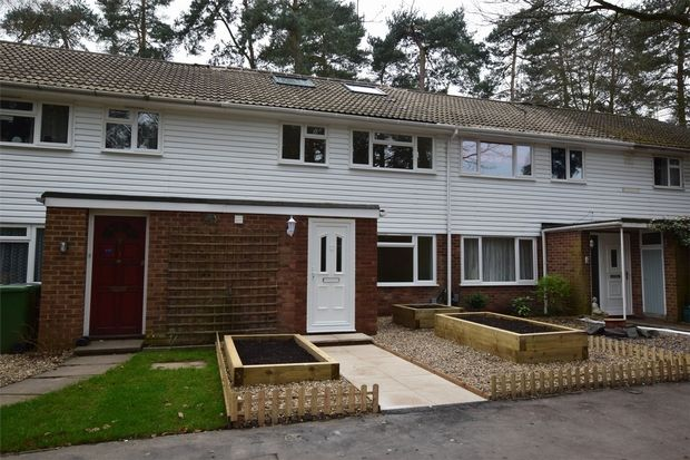 Thumbnail Terraced house for sale in Troutbeck Walk, Camberley, Surrey