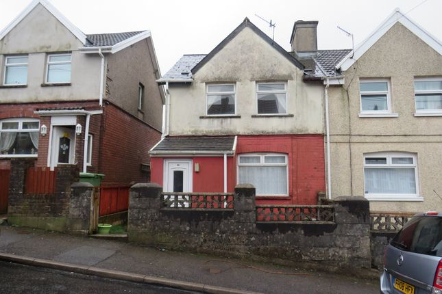 2 bed semi-detached house for sale in Thomas Street, Gilfach Goch, Porth CF39