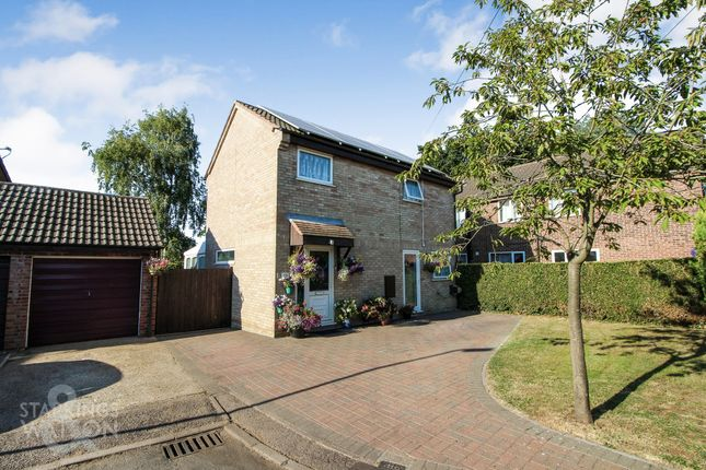 Thumbnail Detached house for sale in Rectory Close, Long Stratton, Norwich