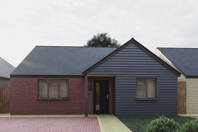 Thumbnail Detached bungalow for sale in Plot 22 Spire View, Whittlesey, Peterborough