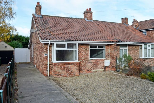 Thumbnail Semi-detached bungalow for sale in Huntington Road, York