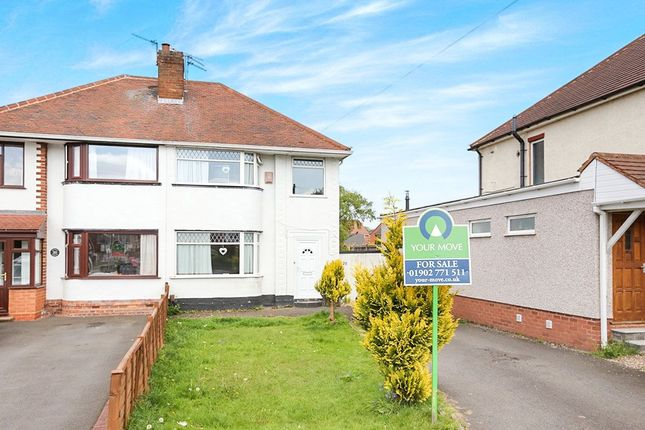 Thumbnail Semi-detached house for sale in Renton Road, Wolverhampton