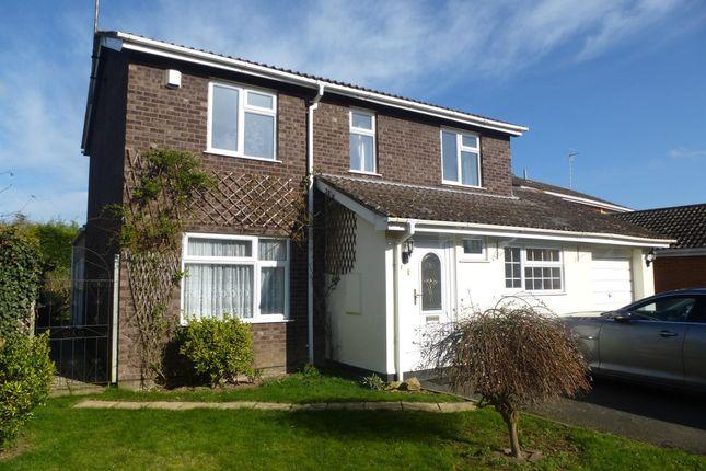Thumbnail Detached house to rent in Royle Close, Orton Longueville, Peterborough