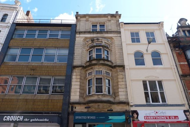 Thumbnail Flat to rent in St Mary Street, Cardiff, ( 3 Beds )