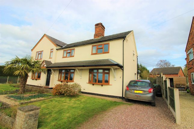 Thumbnail Semi-detached house to rent in Platt Lane, Whixall, Whitchurch