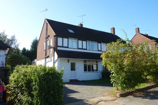 Thumbnail Semi-detached house to rent in Evelyn Drive, Pinner