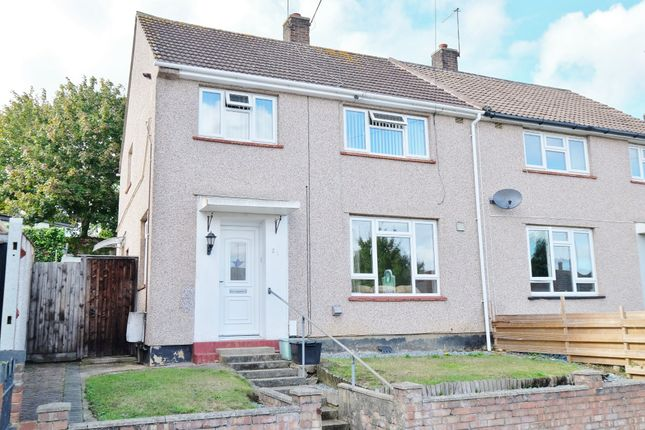 Thumbnail 3 bed semi-detached house for sale in Longbury Drive, St. Pauls Cray, Orpington