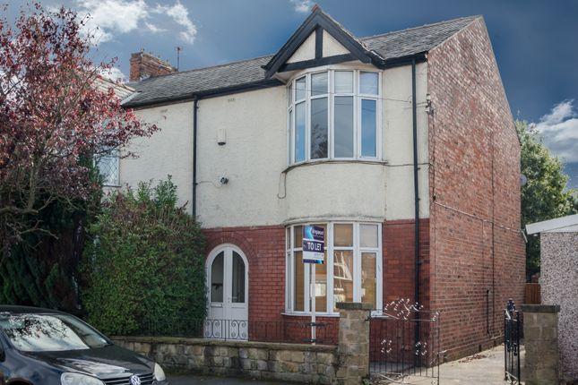 Thumbnail Semi-detached house to rent in Kennington Road, Fulwood, Preston