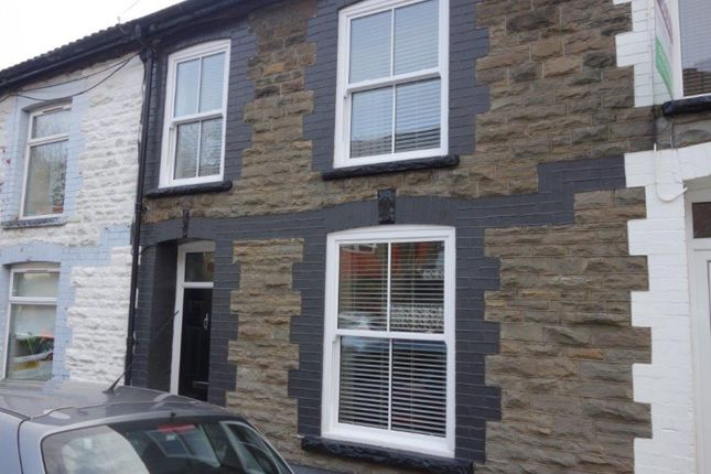 Thumbnail Terraced house for sale in Clifton Street, Treorchy