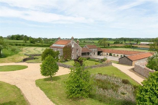 Thumbnail Detached house for sale in West Cranmore, Somerset