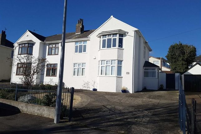 Thumbnail Semi-detached house for sale in Porth Y Castell, Barry, Barry