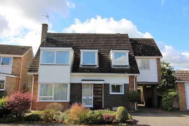 Thumbnail Detached house for sale in Applegarth Court, Wymondham