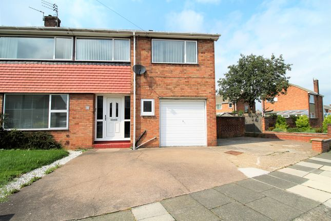 Thumbnail Semi-detached house to rent in Fairway, Choppington