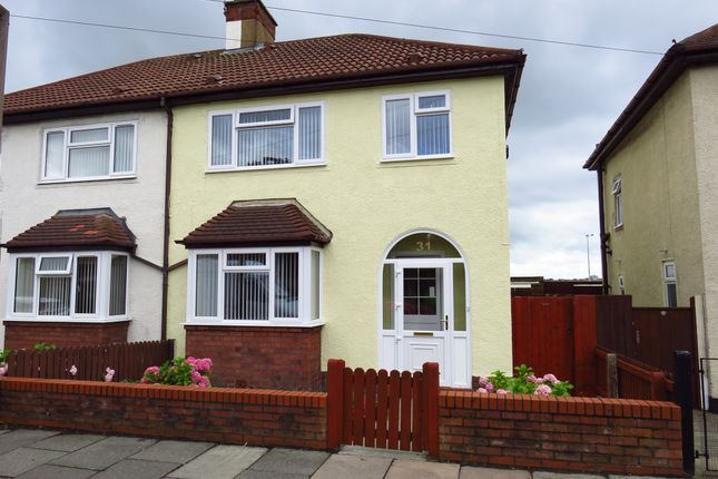 Thumbnail Semi-detached house for sale in Gorsedale Road, Wallasey