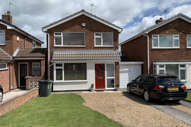 Thumbnail Detached house for sale in Pembroke Avenue, Syston, Leicester