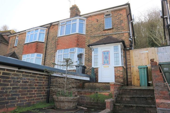Thumbnail Semi-detached house to rent in Cherry Garden Road, Eastbourne