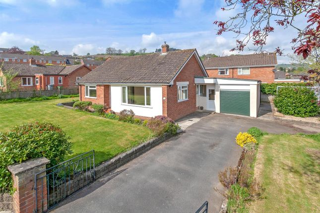 Thumbnail Detached bungalow for sale in Maes Villa, The Dingle, Knighton