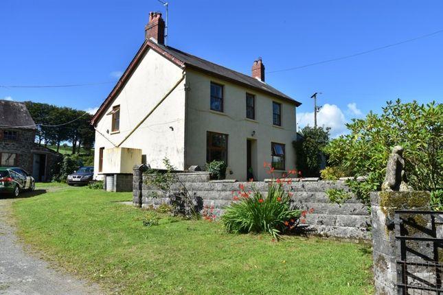 Thumbnail Farmhouse for sale in Coedmor, Maes Y Meillion, Prengwyn