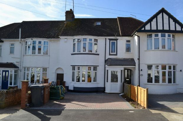 Thumbnail Terraced house for sale in Pinewood Road, Spinney Hill, Northampton