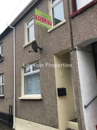 Thumbnail Terraced house to rent in Norman Street, Abertillery, Blaenau Gwent.
