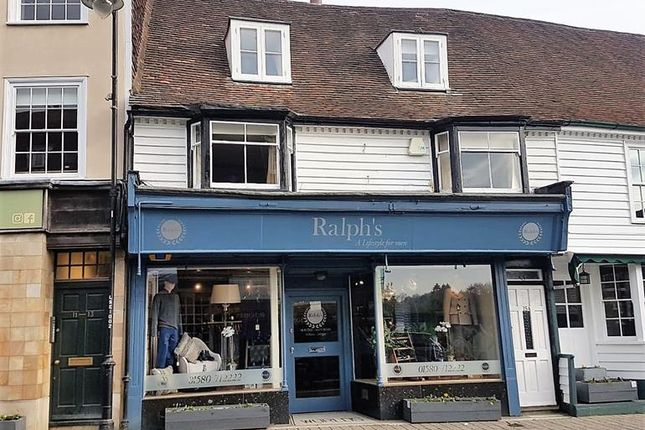 Thumbnail Retail premises for sale in Stone Street, Cranbrook, Kent