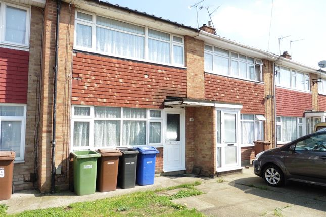 Thumbnail Terraced house to rent in Chaucer Close, Tilbury