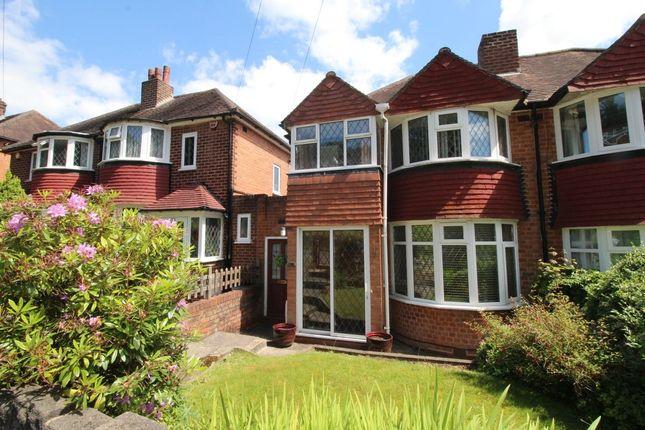 Thumbnail Semi-detached house for sale in Leach Green Lane, Rednal, Birmingham