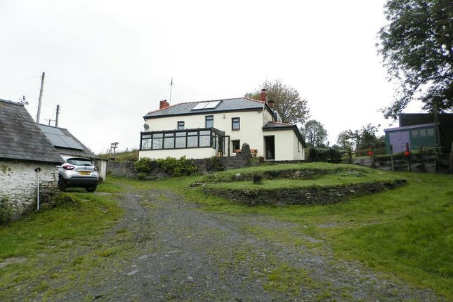 Thumbnail Detached house for sale in Cwmduad Road, Between Conwyl Elfed & Cwmduad, Carmarthenshire SA33 6Uu