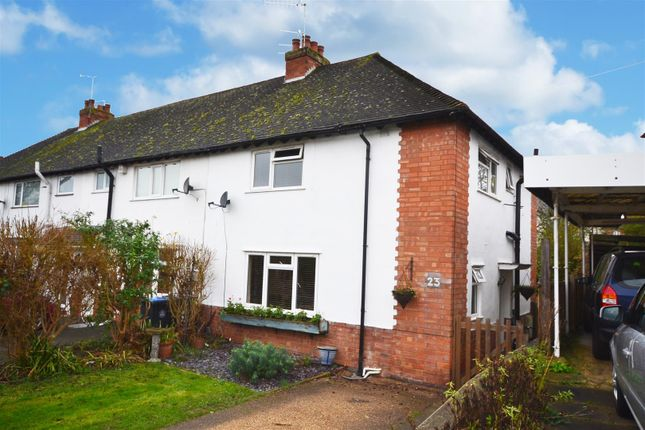 Thumbnail End terrace house for sale in Glebe Road, Stratford-Upon-Avon