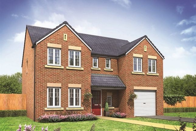 "Thumbnail Detached house for sale in ""The Chillingham"" at City Fields Way, Tangmere, Chichester"