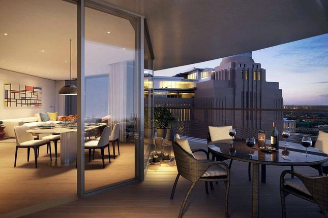 Thumbnail Flat for sale in Roof Gardens, Battersea Power Statio
