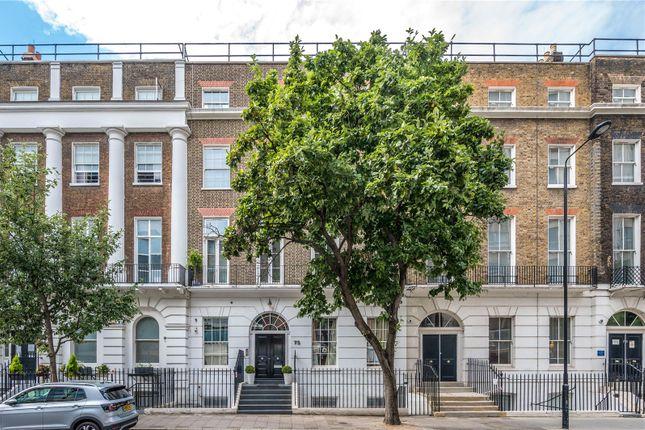 Exterior of Guilford Street, Bloomsbury, London WC1N
