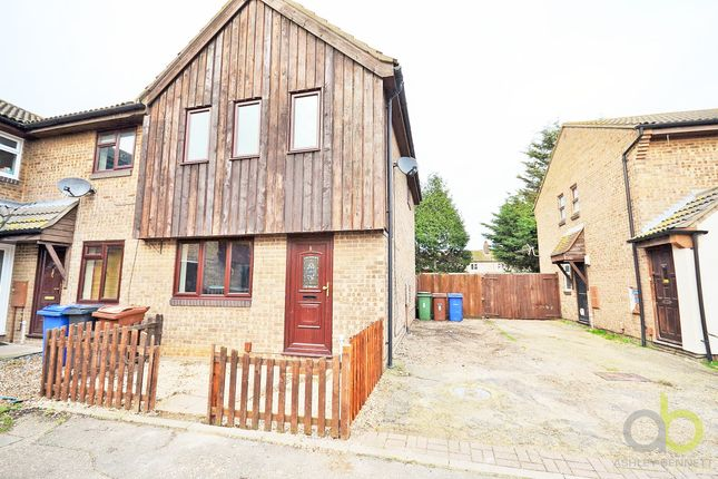 Thumbnail Semi-detached house to rent in Shelley Place, Tilbury