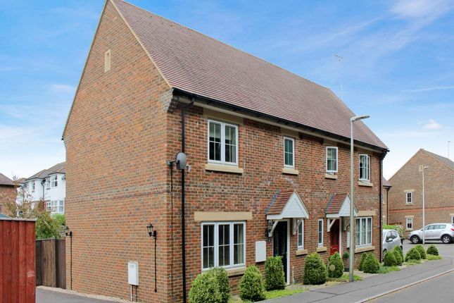Thumbnail Semi-detached house to rent in Old Coach Works, Lambourn, Hungerford