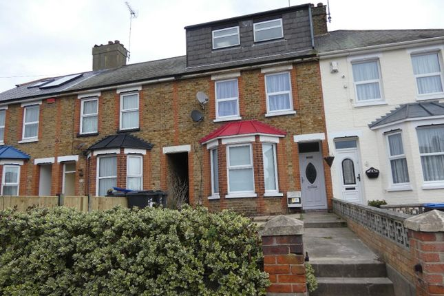 Thumbnail Terraced house to rent in St. Lukes Avenue, Ramsgate