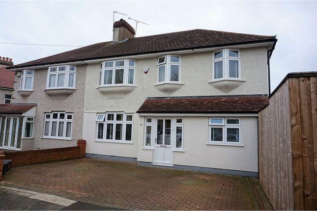 Thumbnail Semi-detached house for sale in Mayfair Avenue, Bexleyheath
