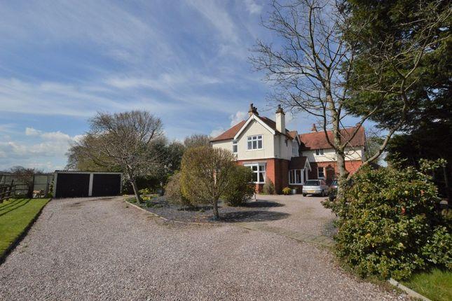 Thumbnail Detached house for sale in Parkgate Road, Mollington, Chester