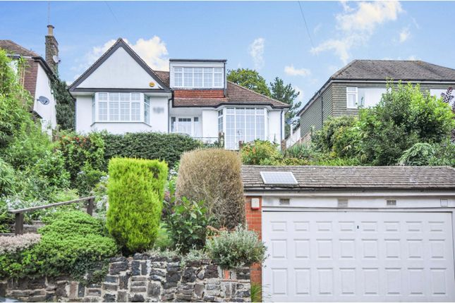 Thumbnail Detached house for sale in Harvest Bank Road, West Wickham