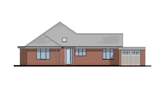 Thumbnail Detached bungalow for sale in Steel Heath, Whitchurch