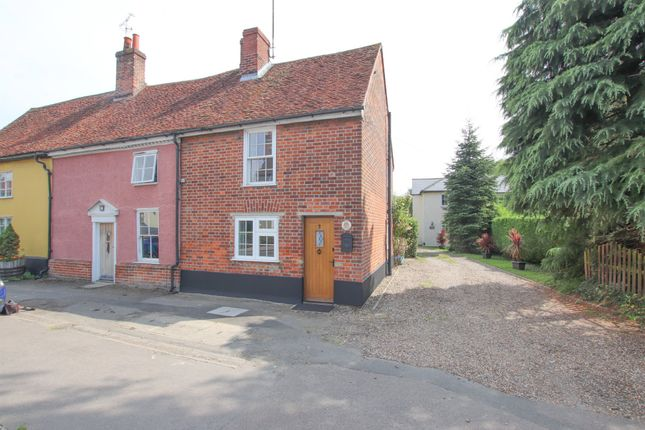 Thumbnail Cottage to rent in Rose Cottages, Ford Street, Aldham
