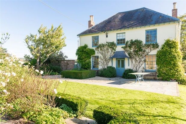Thumbnail Detached house for sale in Upper Godney, Wells