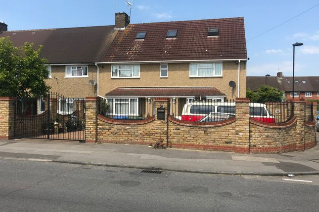 Thumbnail End terrace house for sale in Addison Road, Enfield