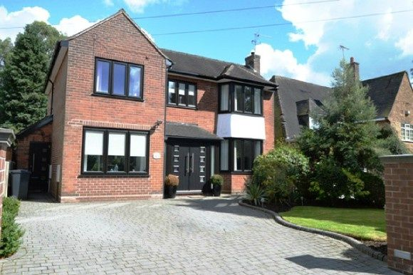 Thumbnail Detached house to rent in Dartmouth Avenue, Westlands, Newcastle-Under-Lyme