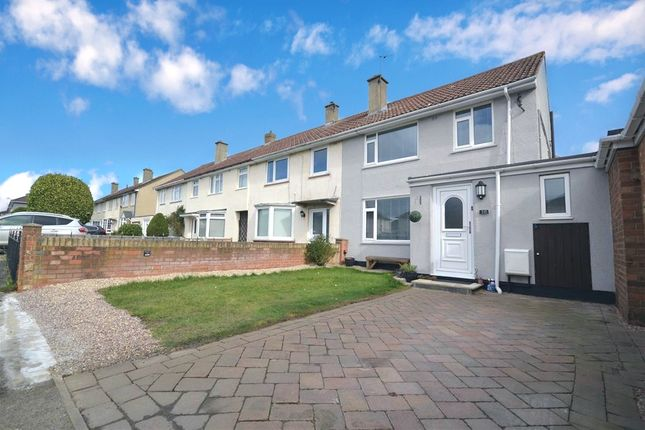 Thumbnail End terrace house for sale in Burns Drive, Corby