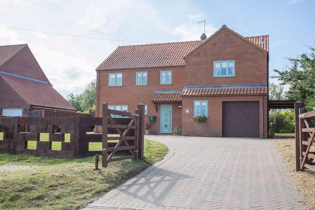 Thumbnail Detached house for sale in Crown Lane, Little Fransham, Dereham, Norfolk