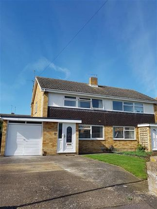 Thumbnail Semi-detached house to rent in Hazel Way, St. Ives, Huntingdon