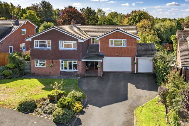 Thumbnail Detached house for sale in The Evergreens, Sherifhales, Shifnal, Shropshire