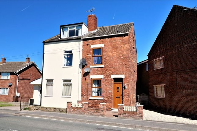 Thumbnail Semi-detached house to rent in High Street, South Hiendley, Barnsley, West Yorkshire