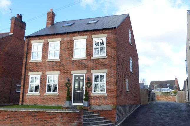 Thumbnail Detached house for sale in Church Street, Donisthorpe, Swadlincote